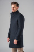 Демисезонное приталенное пальто с ассиметричным бортом_6