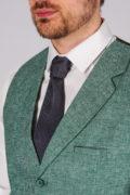 Фактурный жилет зеленого цвета_8