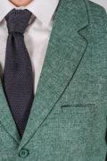 Фактурный жилет зеленого цвета_9