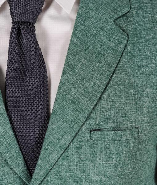 Фактурный жилет зеленого цвета. Арт.:3-119-1