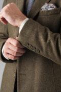 Приталенное пальто из фактурной ткани_02