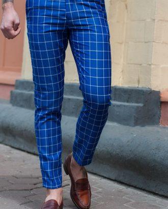 Модные брюки в клетку.Арт.:6-402-5