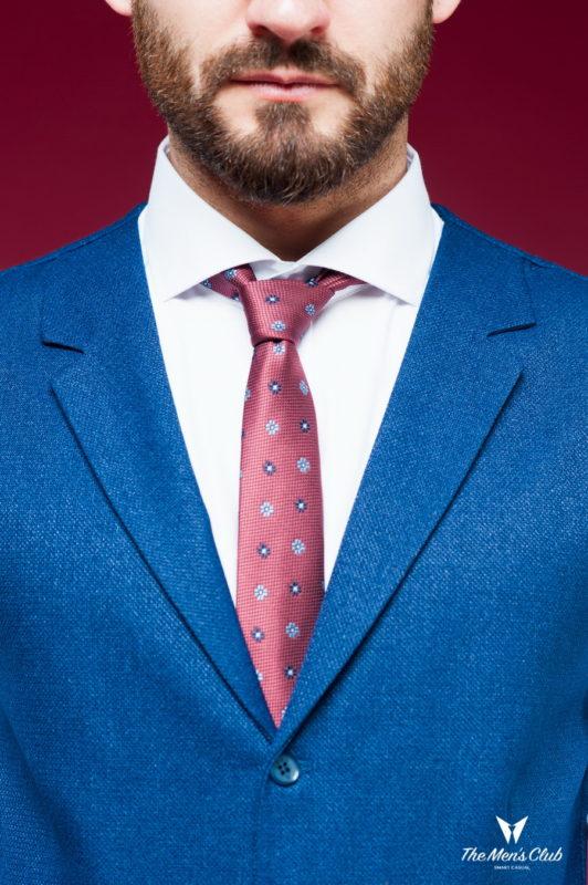 Комплект жилет и брюки синего цвета. Арт.:4-456-5