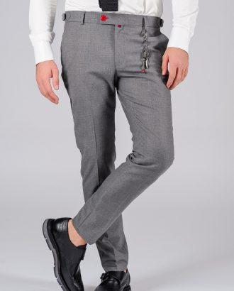 Зауженные брюки темно-серого цвета Арт.:5-101-3