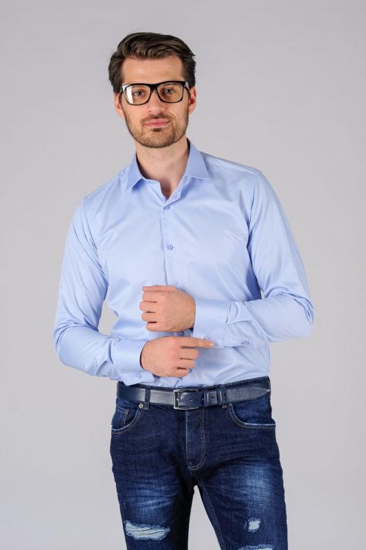 Приталенная рубашка из хлопка. Арт.:5-106-12