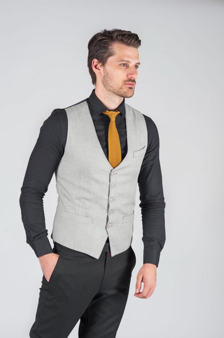 фото модного жилета мужской низ прямой