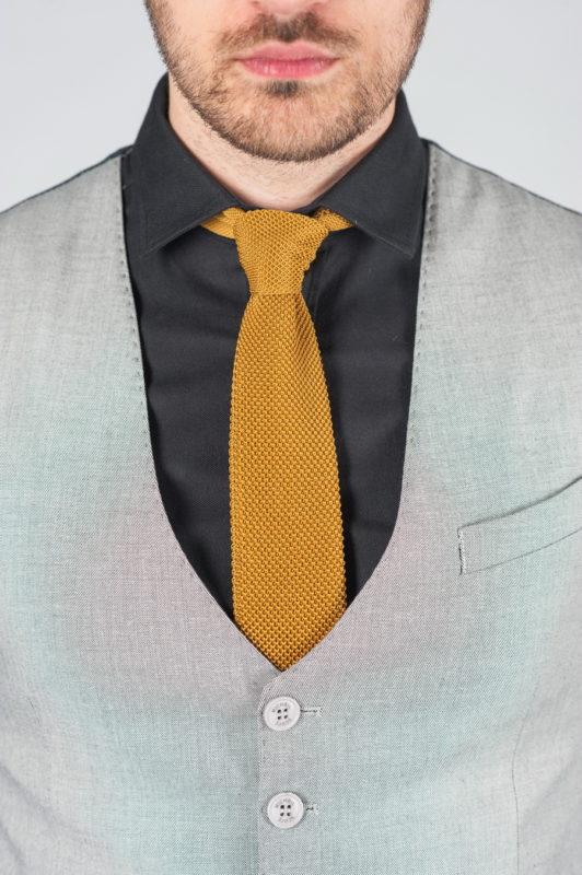 Мужская жилетка серого цвета Арт.:3-001-3