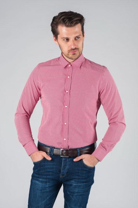 Мужская рубашка в клетку Арт.:5-009-3