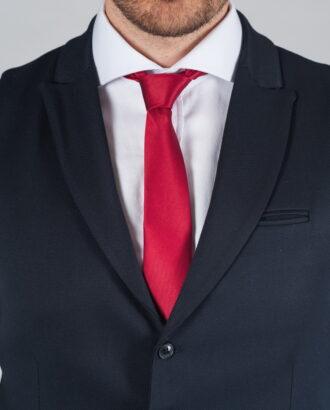 Темно-синий костюм-двойка (жилет и брюки) Арт.:4-022-1