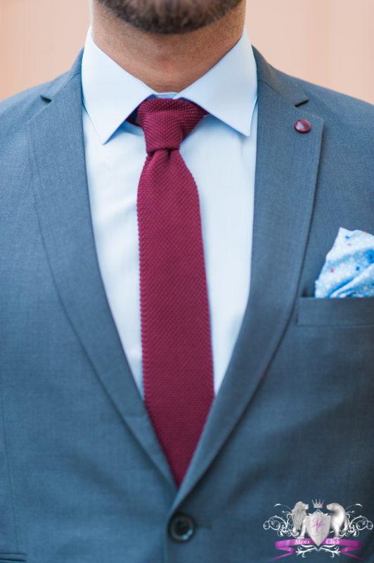 Стильный приталенный пиджак синего цвета. Арт.:2-460-3
