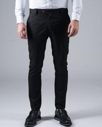 Черные укороченные брюки