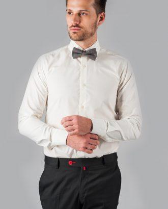 Хлопковая рубашка цвета айвори. Арт.:5-306-12