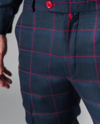 Укороченные брюки в клетку Арт.:5-201-3