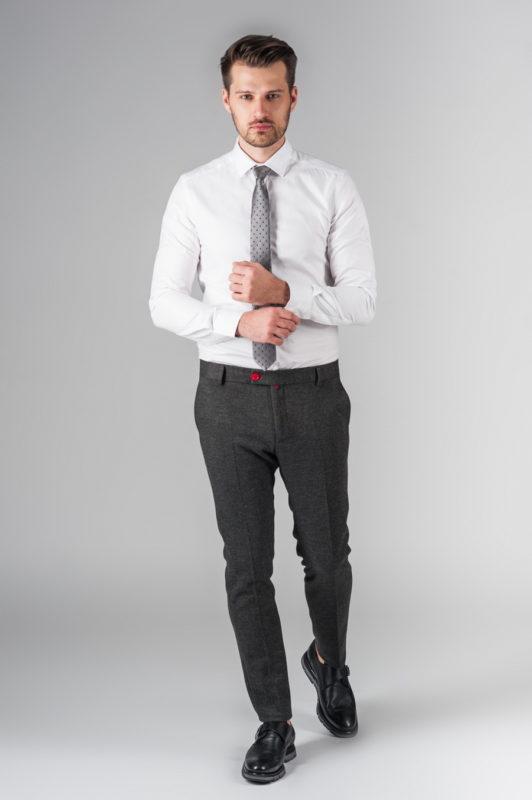Белая рубашка из хлопка. Арт.:5-202-12