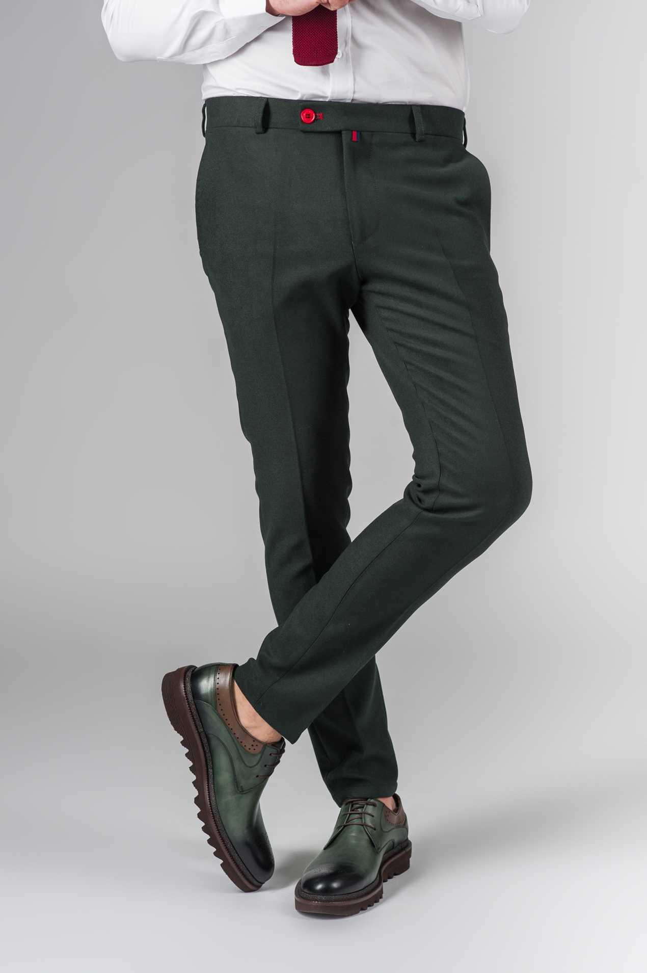 Укороченные брюки черного цвета Арт.:5-203-3