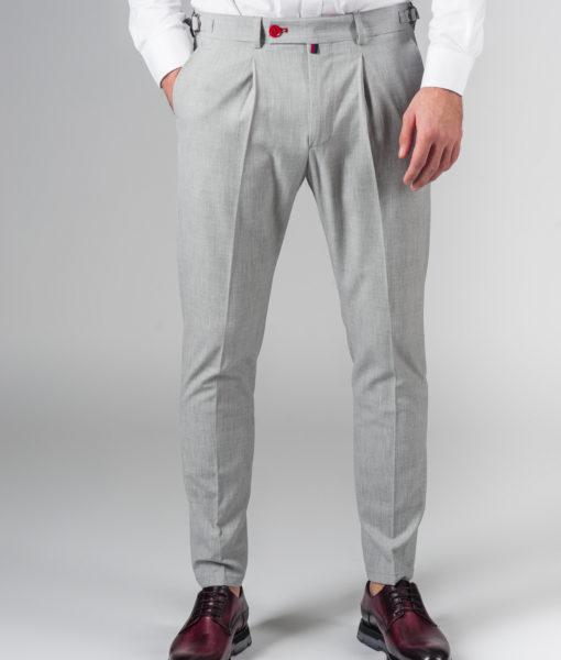 Светлые брюки укороченной длины. Арт.:6-208-3