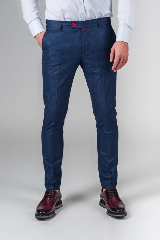 Стильные синие брюки. Арт.:6-219-3