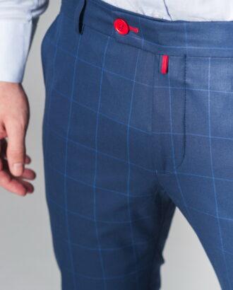 Стильные синие брюки
