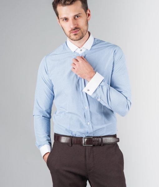 Рубашка из хлопка с манжетами. Арт.:5-236-8
