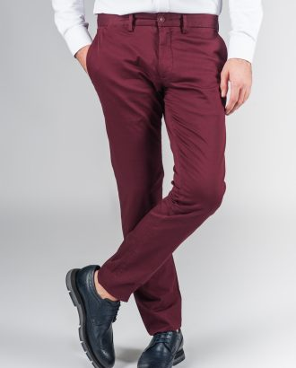 Модные брюки цвета бордо. Арт.:6-238-2