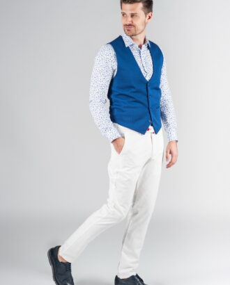 Белые мужские брюки
