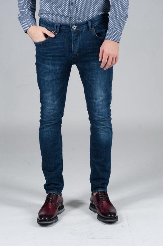 Стильные синие джинсы. Арт.:7-245