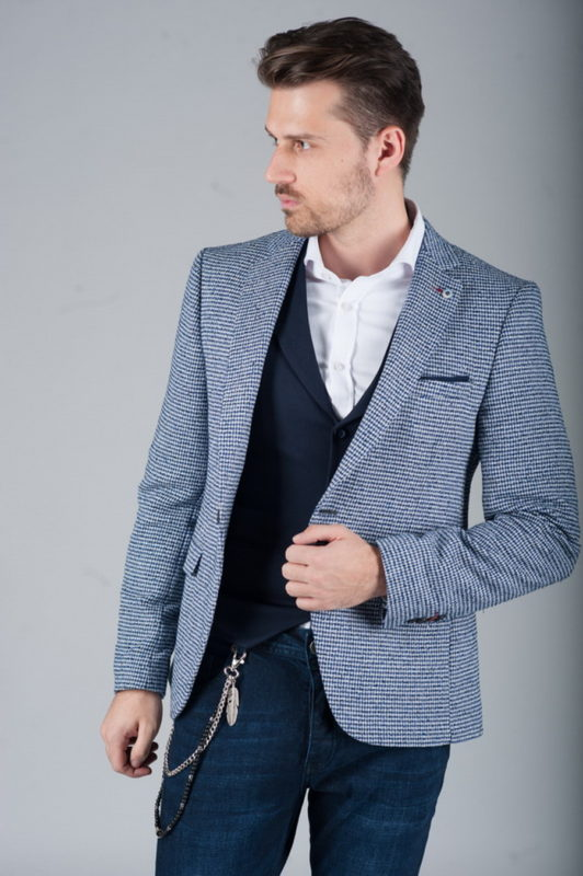 Стильный пиджак под джинсы. Арт.:2-257-2