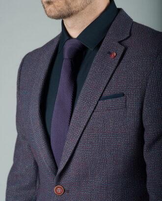 Мужской пиджак в оттенке фиолетового J-259FR