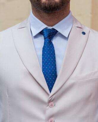 Мужская жилетка кремового цвета V-414SM.l