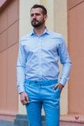 Мужская рубашка с принтом. Арт.:5-406-3