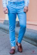 Серые брюки в клетку. Арт.:6-415-3