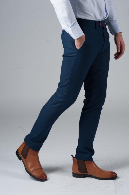 Синие брюки чинос. Арт.:6-241-3