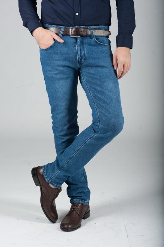 Светло-синие джинсы. Ар.:7-285