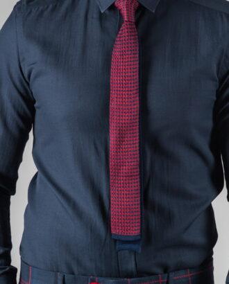 Узорчатый галсутук синего и бордового цвета ti-023k