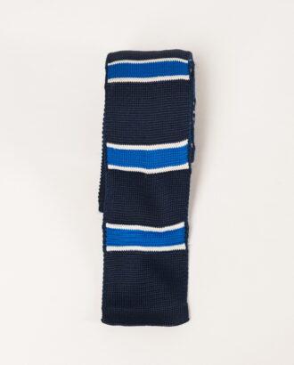 Вязанный галстук с горизонтальными полосками. Арт.: 10-19