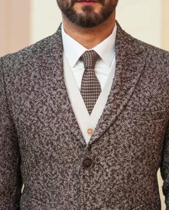 Демисезонное пальто коричневого цвета. Арт.:1-509-2