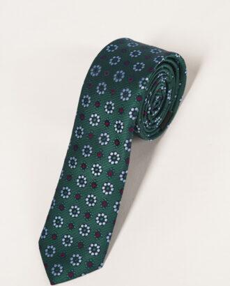 Комплект из галстука и нагрудного платка с принтом. Арт.:10-16