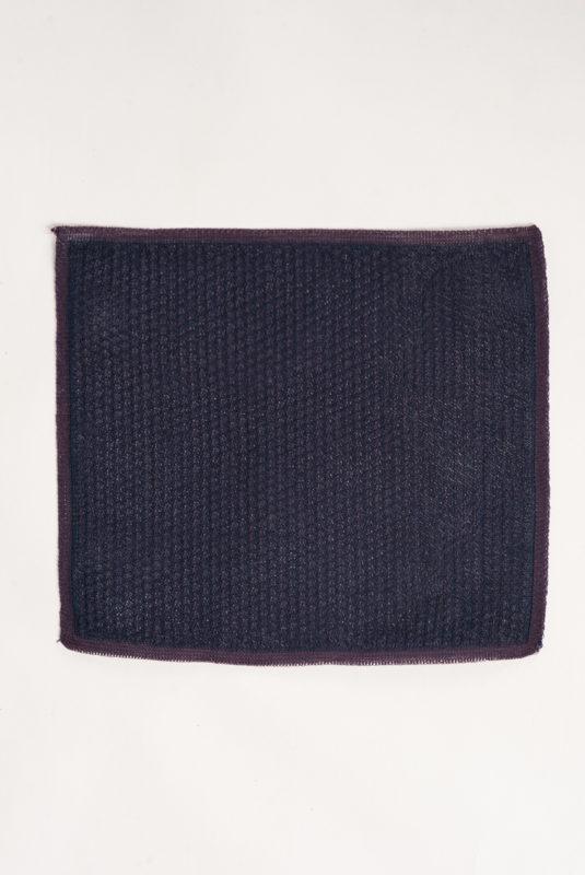 Вязаный платок синего цвета. Арт.:11-03