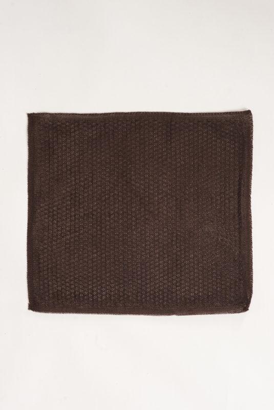 Вязаный коричневый платок. Арт.:11-04