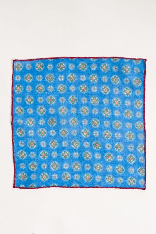 Голубой нагрудный платок. Арт.:11-10