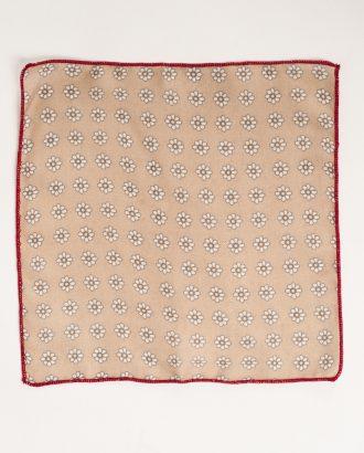 Нагрудный платок с цветочным принтом. Арт.:11-13