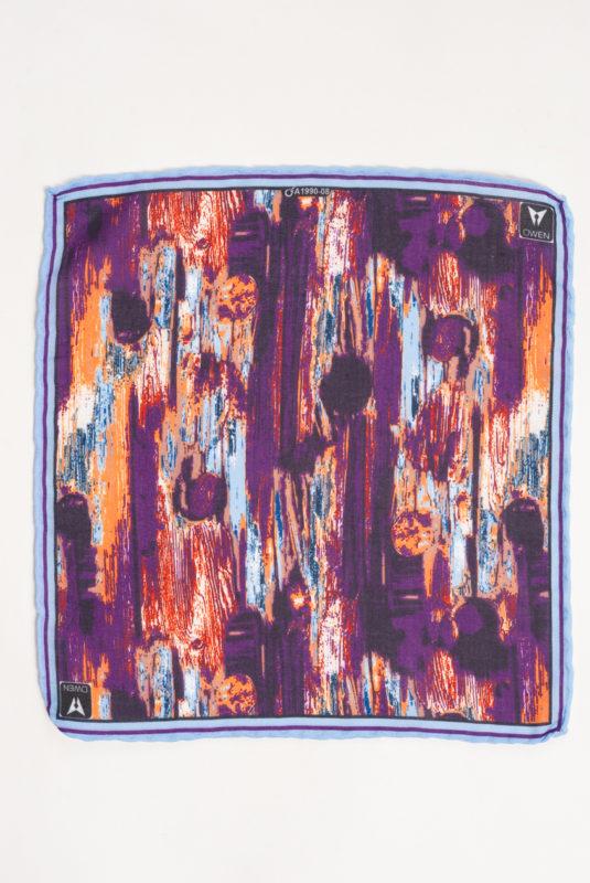 Стильный нагрудный платок с абстрактным рисунком. Арт.:11-16