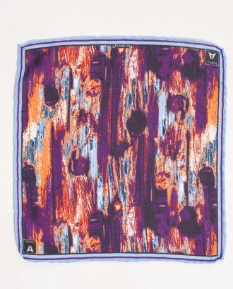 Нагрудный платок с цветочным принтом. Арт.:11-06