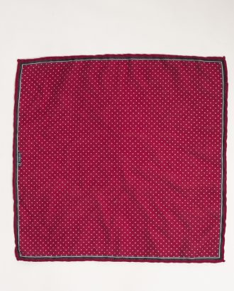 Малиновый нагрудный платок. Арт.:11-29