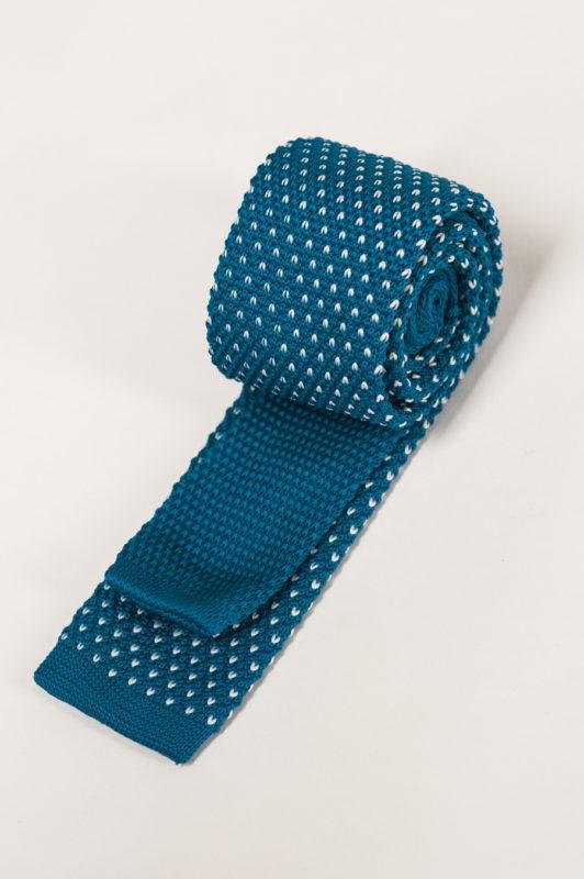 Оригинальный вязаный галстук. Арт.:10-29