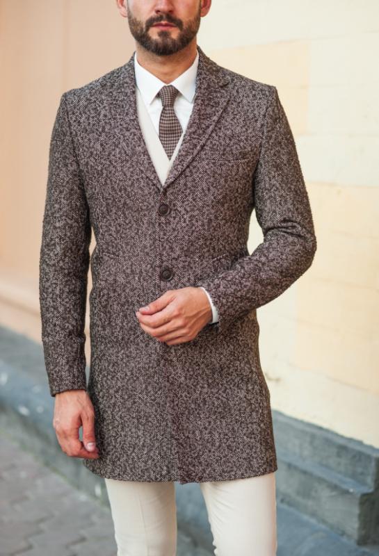 Стильное, модное, приталенное мужское пальто – современная классика!