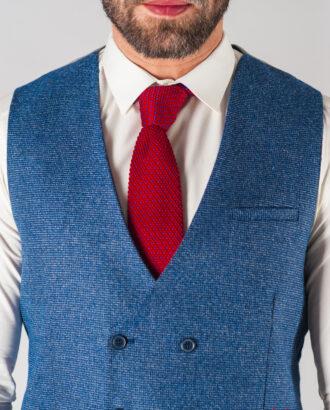 Мужской костюм-двойка синего цвета. Арт.:4-606-3