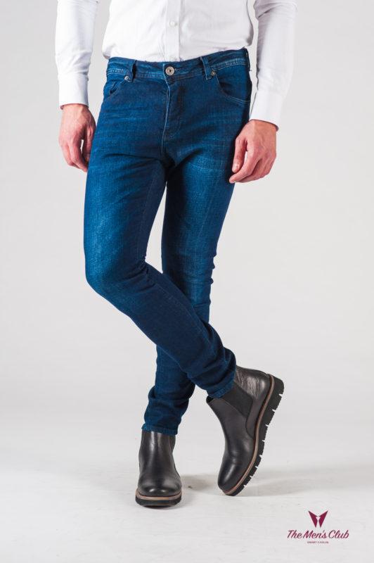 Мужские синие джинсы. Арт.:7-618