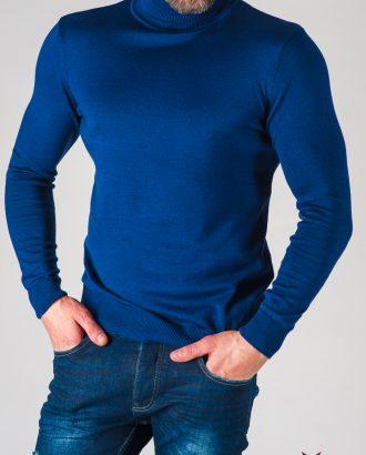 Мужская водолазка синего цвета. Арт.:8-628-8