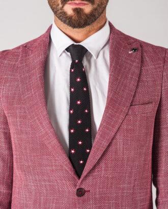 Мужской пиджак розового цвета. Арт.: 2-703-5